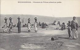 Afrique - Madagascar - Femmes Porteuses D'eau - Tulear - Madagascar