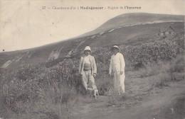 Afrique - Madagascar - Chercheurs D'Or - Cachets Arivonimamo 1908 Cosne Sur L'Oeil - Madagascar