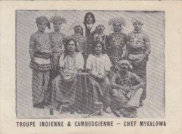 Asie - Cambodge - Inde - Troupe Musique Danse - Cambodge