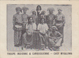 Asie - Cambodge - Inde - Troupe Musique Danse
