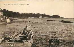 Var - Ref A890 -  Boulouris - La Plage  -    Carte Bon Etat - - Boulouris