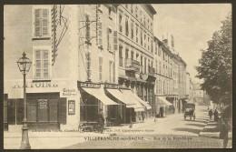 VILLEFRANCHE Sur SAONE Rue De La République (Chambion) Rhône (69) - Villefranche-sur-Saone