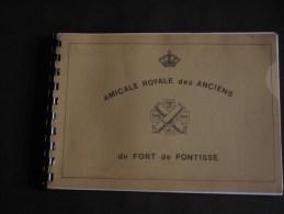 FORT DE PONTISSE - AMICALE DES ANCIENS - Plaquette Souvenir Avec Dessins De Jean Gijsen - Other