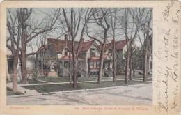 Rest Cottage Home Of Frances E Willard Evanston Illinois 1907