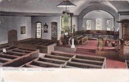 Interior Of Saint Johns Church Richmond Virginia 1907