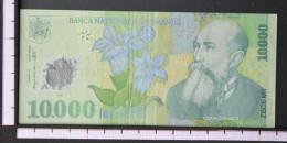 ROMANIA  10000  LEI  1999     -    (Nº06540) - Rumania