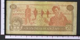 ANGOLA  20  KWANZAS  1976     -    (Nº06544) - Angola