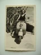 LAMBRETTA  PICCOLA FOTO   9,5 X 6,5     MOTO MOTOS SCOOTER MOTOCICLO - Automobili