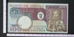 ANGOLA  100  ESCUDOS  1973     -    (Nº06557) - Angola