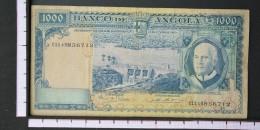 ANGOLA  1000  ESCUDOS  1970     -    (Nº06558) - Angola