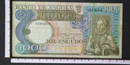 ANGOLA  1000  ESCUDOS  1973     -    (Nº06560) - Angola