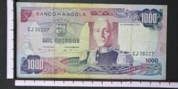 ANGOLA  1000  ESCUDOS  1972     -    (Nº06561) - Angola