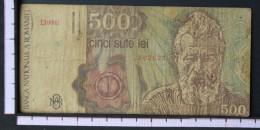 ROMANIA  500  LEI  1991     -    (Nº06563) - Rumania