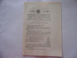 MINISTERO DELLE FINANZE SPESA ANNO FINANZIARIO 1919-1920 REGIO DECRETO 1919