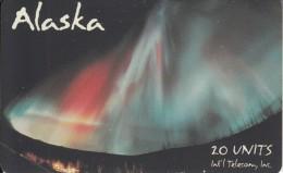 ALASKA(chip) - Aurora Borealis 3(20 Units), Tirage 5000, 11/94, Mint - Schede Telefoniche