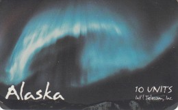 ALASKA(chip) - Aurora Borealis 1(10 Units), Tirage 5000, 11/94, Mint - Schede Telefoniche