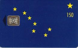 ALASKA - Alaska Flag, First Issue 150 Units($52.50), Tirage 2500, Mint - Schede Telefoniche