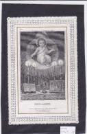 SANTINO CANIVET MECCANICO GESU' BAMBINO NELLA MANGIATOIA   INCISIONE     Cm. 11,7x8-2 0882-20431 - Devotion Images