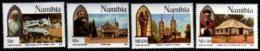 NAMIBIA, 1996, Mint Never Hinged Stamp(s), Catholic Church,    Nr(s).   808-811 - Namibia (1990- ...)
