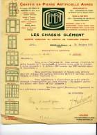 Senones Les Chassis Clement 1925 - Autres