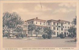 Florida St Petersburg Wigwam Hotel Curteich