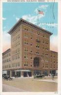 Vermont Burlington New Sherwood Hotel Curteich