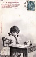 La Journèe De Suzette - Hübsches Mädchen, Erster Schultag, 1904 - Kinder