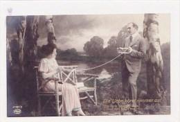 Paar, Couple, Stricken, Tricoter, Photo, 1918  ***76127 - Métiers