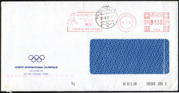 SWITZERLAND LAUSANNE 2002 - MAILED ENVELOPE - METER / EMA I.O.C. - HENRI DIDON : CITIUS ALTIUS FORTIUS - Giochi Olimpici