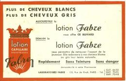- BUVARD-  Buvard Publicitaire Lotion Capillaire FABRE Laboratoire à PARIS - Perfume & Beauty