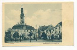 Cottbus Brandenburg Marktplatz Mit Rathaus - Cottbus