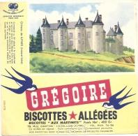 - BUVARD-  GREGOIRE  Biscottes Allégées - Château De LUYNES - Food