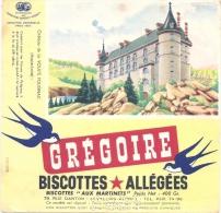 - BUVARD-  GREGOIRE  Biscottes Allégées - Château De  LA VOULTE POUGNAC - Food