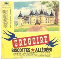 - BUVARD-  GREGOIRE  Biscottes Allégées - Château De  CHAUMONT SUR LOIRE - Food