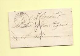 Espalion - 11 - Aveyron - 20 Janv 1836 - 1801-1848: Voorlopers XIX