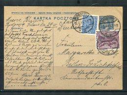 Poland 1931 Uprated  Postal Stationary  Card Henryk Sienkiewich Writer Nobel Prize Winner Bydgoscz- Berlin - 1919-1939 Republic