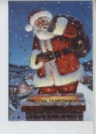 Plooikaart Kerstman Gebruikt - Kerstman