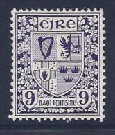 Ireland, Scott # 115 Mint Hinged Coat Of Arms, 1940 - Unused Stamps