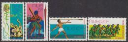 NIUE, 1972 ARTS FESTIVAL 4 MNH - Niue