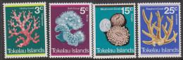 TOKELAU, 1973 CORALS 4 MH - Tokelau