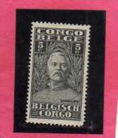 BELGIAN CONGO BELGA BELGE 1928 SIR HENRY MORTON STANLEY 5 FR MH - Belgian Congo