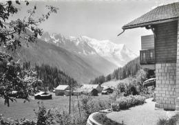 Argentière - Le Village Des Frasserands Et Le Mont Blanc - Francia