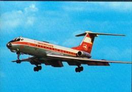 Interflug IF Aeroplane Flugzeug TU 134 1978 - 1946-....: Moderne