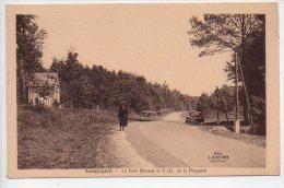 REF 170 : CPA 59 LOCQUIGNOL La Foret Mormal Et ND De La Plaquette (petit Plan Voiture Ancienne Citroen) - Autres Communes
