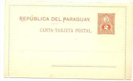 LAC5 - PARAGUAY 2 EP CL 2c ET 3c NEUVES - Paraguay