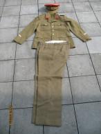 ARMEE BELGE - Lot De 2 Uniformes  MP - Détails, Voir Descriptif Et Scans - Police Militaire - Uniformes