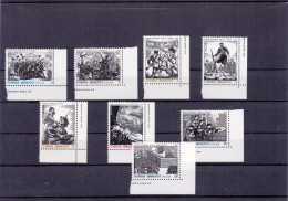 GREECE STAMPS NATIONAL RESISTANCE  MNH-8/11/82-COMPLETE SET - Grecia