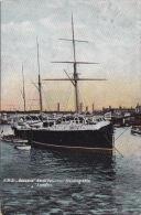 SHIPPING - HMS BUZZARD. NAVAL VOLUNTEER TRAINING SHIP. - Otros