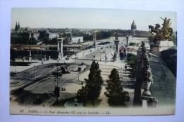 D 75 - Paris - Le Pont Alexandre III , Vers Les Invalides - Frankrijk