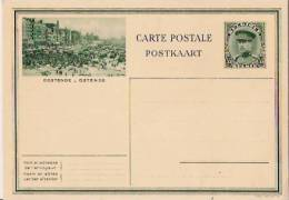 BELGIQUE:Entier Postal:OSTENDE-OOSTENDE.A Lbert 1.Képi. Non écrit. - Stamped Stationery
